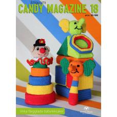 Candy Magazine 18 - E-opskrift - Hækleopskrifter til farverigt babylegetøj