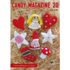 Candy Magazine 20 - Hækleopskrifter til sødt julepynt - Svarta Fåret