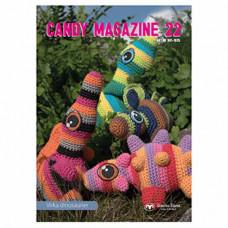 Candy Magazine 22 - Hækleopskrifter skønne dinosaurer