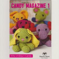 Candy Magazine 1 - Hækleopskrifter til små dyr