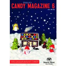 Candy Magazine 6 - Hækleopskrifter til juleby og honningkage hus