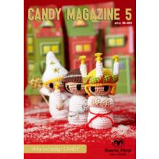 Candy Magazine 5 - Hækleopskrifter til flot lucia optog