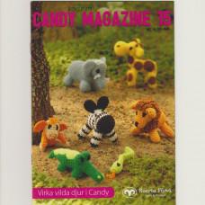 Candy Magazine 15 - E-opskrift - Hækleopskrifter - Vilde dyr