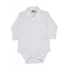 Hust & Claire - Skjorte body - Hvid Str. 92
