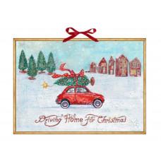 Coppenrath - Gammeldags julekalender med glimmer - Driving home for christmas
