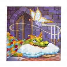 DIY - Krystal kort - Dragen på eventyr slottet