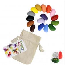 Crayon Rocks - Farvekridt -16 stk i stofpose