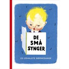 DE SMÅ SYNGER - Børne sangbog - Papbog - 23 af de populæreste sange og sanglege