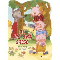 Forlaget Bolden - Historie papbog - De tre små grise