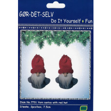 DIY - Kalendergave hobbysæt - Julenisser i grå