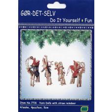 Kalendergave - Hobbysæt - Julebukke med nisser