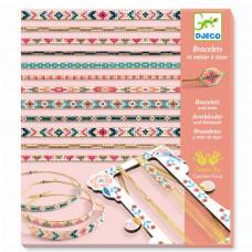 Djeco - Kreativ æske - Perle armbånd