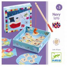 Djeco - Spil - Billedlotteri - Navy-loto