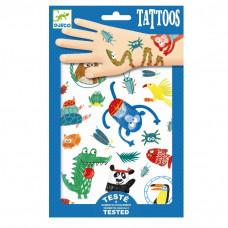 Djeco - Tatoveringer - Vilde dyr