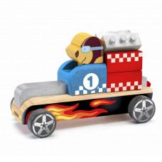 Djeco - Buldy Bolide - byggeklodser - Racerbil