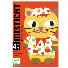Djeco - Spil - Kortspil Mistcat (Sorteper)
