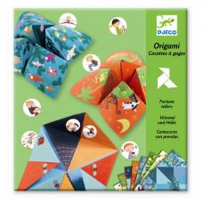 Djeco - Kreativ æske - Origami - Flip-flapper