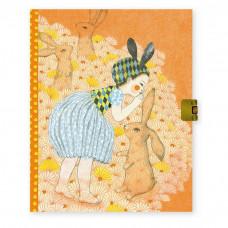 Djeco - Lovely Paper - Dagbog med lås - Elodie