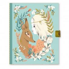 Djeco - Lovely Paper - Dagbog med lås - Lucille