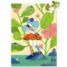 Djeco - Mini puslespil - 60 brikker - Miss Chichi