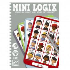 Djeco - Mini spil/Rejsespil - Mini Logix - Gæt hvem jeg er - Jules