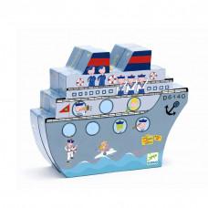 Djeco - Mini spil/Rejsespil - Sænke slagskibe magnet spil