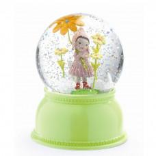 Djeco - Snekugle med lys og glimmer - Sød Pige