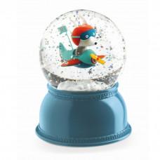Djeco - Snekugle med lys og glimmer - Nattens Pilot