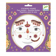 Djeco - Ansigtsklistermærker - Indisk Prinsesse