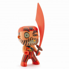 Djeco - Arty Toys - Piratfigur – Captain Red