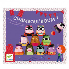 Djeco - Børne fødselsdags underholdning - Chambuol'Boum - Bowlingspil med papbægere