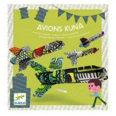 Djeco - Børne fødselsdags underholdning - Avions Kuna Fly - Fly til dekoration