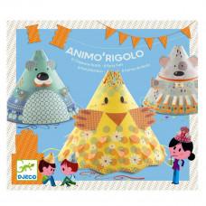 Djeco - Børne fødselsdags underholdning - Animo'Rigolo - Hatte til fødselsdag