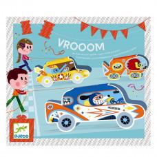 Djeco - Børne fødselsdags underholdning - Vrooom - Bilrace