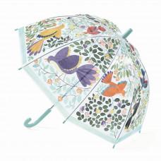 Djeco - Børne paraply - Blomster og fugle
