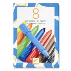 Djeco - Gel farver - Klassiske farver - 8 stk