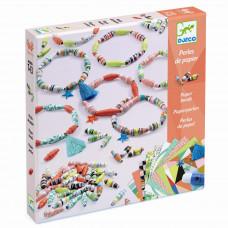 Djeco - Kreativ æske - Papir perle armbånd