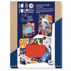 Djeco - Kreativ æske - DIY - Billedramme Space