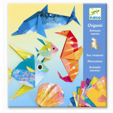 Djeco - Kreativ æske - Origami - Havdyr