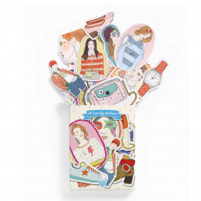 Djeco - Lovely Paper - Klistermærker 50 stk. - Nathalie