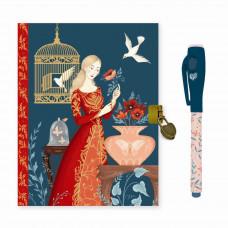 Djeco - Lovely Paper - Dagbog med lås og magisk pen - Lisa