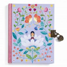 Djeco - Lovely Paper - Dagbog med lås - Marie