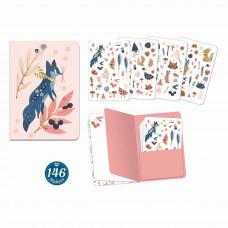 Djeco - Lovely Paper - Klistermærkebog 146 stk. - Lucille