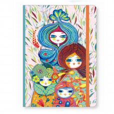 Djeco - Lovely Paper - Notesbog med elastik - Muriel