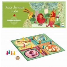 Djeco - Spil - Brætspil - Klassisk Ludo spil