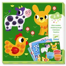 Djeco - Modellervoks - Ler cirkler