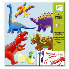 "Djeco - origami - ""Sprællemandsdinosaurer"""