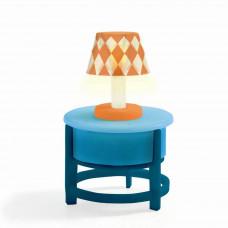 Djeco - Petit Home - Dukkehus møbler - Bord og lampe