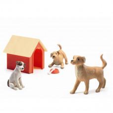 Djeco - Petit Home - Hunde til dukkehus