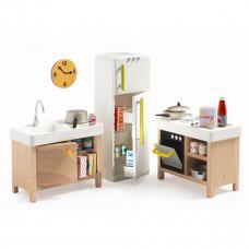 Djeco - Petit Home - Dukkehus møbler - Køkken